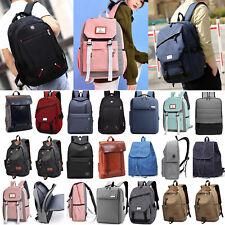 Men Women Travel Backpack Bags Laptop School Zipper Shoulder Satchel Rucksacks