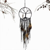 "28"" Tree of Life Net Bead Feather Hanging Dreamcatcher Dream Catcher Decor Home"