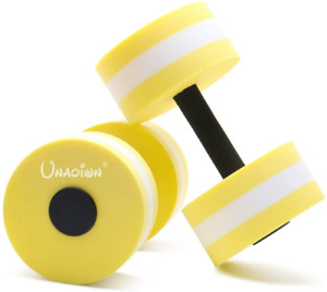UNAOIWN Water Aerobics Water Dumbbells for Pool Fitness Exercise Aquatic Dumbbel