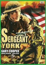 Sergeant York (1941) - Gary Cooper, Walter Brennan, Joan Leslie - DVD NEW