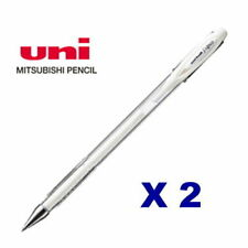 Uniball - 2 Pcs of Signo Angelic White GEL Pen Um120ac 0.7mm