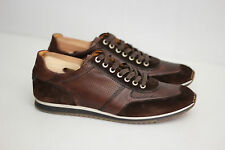 Magnanni 'Serrano' Sneakers - Cacao Leather - Size 8.5 M - 15746  (W83)