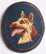 Insigne tissu patch CYNOPHILE MAITRE CHIEN uniforme France ORIGINAL NEUF