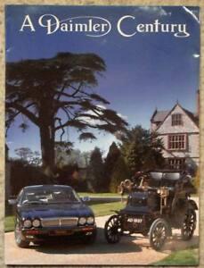 DAIMLER CENTURY Car Press Media Pack Kit Photos Slides 1995