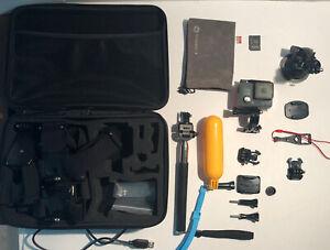 GoPro HERO Camera BUNDLE Chest Strap + Mounts + Case + Mono + Extras B3