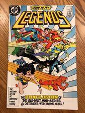 Legends #6 (1986-1987), DC Comics
