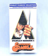 A Clockwork Orange (VHS, 1991) Stanley Kubrick