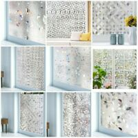 PVC Self Adhesive Window Glass Films Stickers Foil Frosted Stained Church Glass