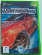* Jeu XBOX Need For Speed Underground PAL, microsoft jeux game NFS EA