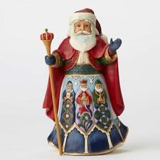 Jim Shore for Enesco Js Hwc Fig Spanish Santa Figurine