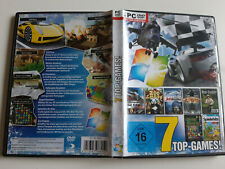PC 7 Top Games - GTR / Zoo Empire / Angel Simulation / Merlin / Heli Fighter...