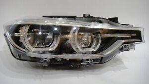 15 16 17 18 BMW 3 SERIES F30 LED NON ADAPTIVE RIGHT HEADLIGHT HEADLAMP COMPLETE
