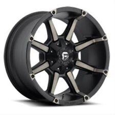 MHT D55617900545 Fuel Wheel Rim Coupler D556 Matte Black, Size: 17x9