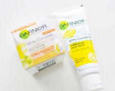2 X Garnier Skin Naturals White Complete Cream spf 19 18 g WITHOUT FACE WASH