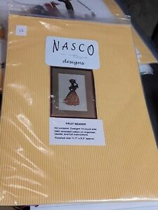 Nasco Designs African Fruit Bearer Cross Stitch Kit