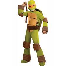 Adolescent Ninja Tortues Michelangelo Déguisement Halloween Enfants Âge 3-4 Neuf