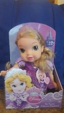 New My First DISNEY PRINCESS Baby Deluxe MY SWEET RAPUNZEL DOLL HTF Fast Ship!
