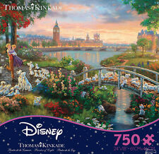 Thomas Kinkade Disney Dreams - 101 Dalamations - 750 Piece Puzzle 2903-18