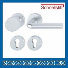 Hoppe Bonn Aluminium Rosette F1 Alu Natur 58/42KV/42KVS/150 WG Wechselgarnitur
