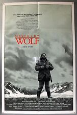 NEVER CRY WOLF - CHARLES MARTIN SMITH - ORIGINAL AMERICAN ONE SHEET MOVIE POSTER