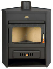Wood Burning Multi Fuel Stove Fireplace Log Burner Corner Model  Prity AM 12 kW