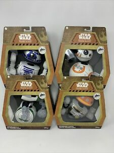 Mattel Star Wars Galaxy's Edge Trading Outpost: Customizable Droid Plushes 4 Lot