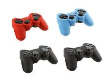 4PCS Silicone Rubber Skin Cover Protector Case for Playstation 3 PS3 Controller