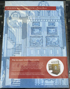 Paper SIR JOHN SOAMES MUSEUM Picture Room Pop Up
