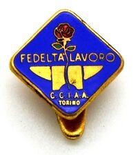 Distintivo Camera Di Commercio Torino - Fedeltà Lavoro (Tacconet Torino)