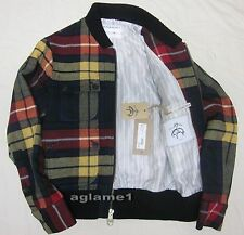 Rare $950 Brooks Brothers Thom Browne for Black Fleece wool jacket BB00 close XS