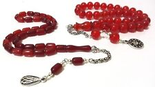 YEMEN DICE KEHRIBAR, Islamic Prayer Beads, Collection Set 2 FATURAN TASBIH AMBER