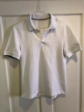 Lululemon Men's Tech Pique Polo Shirt Size: Small White