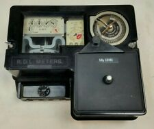 Coin Operated Electricity Meter RDL TP50 Vintage Bakelite 1970s Analogue 240V