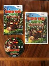 DONKEY KONG COUNTRY RETURNS - Nintendo Wii Game Console - w/ Case, Manual