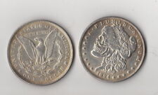 Magic Trick Coin 1894  Morgan Dollar Skull Zombie heads Coin Novelty Fantasy