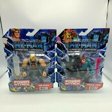 He-man and the Masters of the Universe Power Attack He-man & Skeletor 2021 MOTU