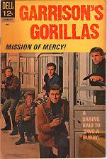Garrison's Gorillas #3 - Dell Comics Photo Cover - 1964 (Grade 6.0) WH