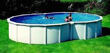 Piscina fuoriterra o interrabile Gre a forma di otto Varadero 500x340x120 cm