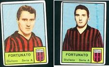 Calciatori Mira 1964-65! Cornice Piccola Fortunato-Milan (2 varianti)! RARE