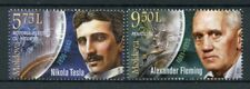 Moldova 2018 MNH Inventors Nikola Tesla Alexander Fleming 2v Set People Stamps