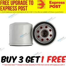 Oil Filter Oct|2007 - on - For NISSAN X-TRAIL 4D WAGON - T31 Petrol 4 2.5L QR F