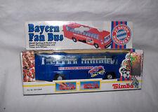 FC Bayern München  FAN BUS mit Rückziehmotor blau Neu,OVP,Lizenz-RAR