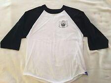 Youth Size Medium Baseball Tee T-Shirt 808 Skate Hawaii Logo