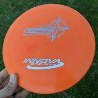 Rare Orange PFN Star Firebird Innova Disc Golf NEW