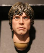 Custom! Luke Skywalker movable eyes 1.0 Star Wars 1/6 head