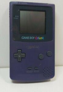 Nintendo Game Boy Color Grape Purple TESTEDGameboy