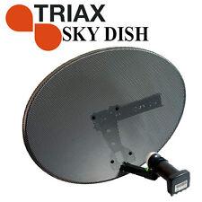 Sky Digital Zone 2 MK4  TRIAX Satellite Dish QUAD LNB - For Freesat, Sky, Astra