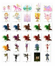 Personalized Return Address labels Girl Fairies Buy 3 get 1 free (gfs3)