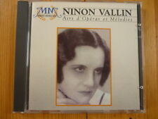 Ninon vallin: Liners d 'opera et Myrtille (virgin France) Bellini Bachelet rar!