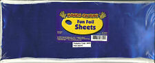 "FUN FOIL SHEETS..30 pieces  12"" X 4 1/2"" misc. colors"